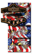Capsmith Rap A Cap American Eagle Red White Blue Flag Multi Function Head wear