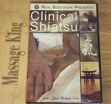 Clinical Shiatsu Dvd -New- Massage professional education Dvd 45 minutes