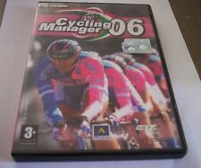 CYCLING MANAGER 06 gioco pc originale bici completo sport game