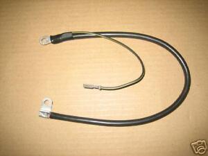 kawasaki 900Z1 cable de terre