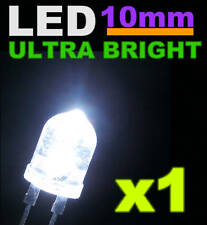 501/1# LED 10mm Blanche 1/2w ultra puissante 1 pc