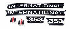 Aufklebersatz / Aufkleber / Decal Kit / Emblem passend für Case IH / IHC 353