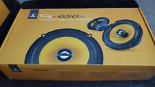 """New listing Jl Audio C1-650x C1 Series 6-1/2"""" 2-Way Coaxial Car Audio Speakers 6.5"""" Used"""