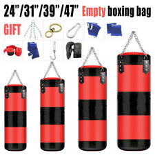 EMPTY Heavy Boxing Punching Bag Training Gloves Speed Set Kicking MMA Workout