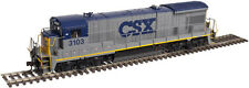 CSX RAILROAD HO- B23-7 DIESEL W/SOUND & DCC BY ATLAS GOLD-FREE SHIPPING IN U.S.!