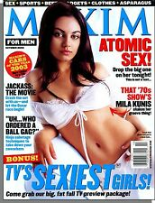 Maxim 58 - 2002, October - Mila Kunis, TV's Sexiest Girls, Absolut Accessory!