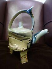 Terry Bell-Hughes Ceramic Studio Pottery British Sculpture CPA Stoneware Teapot