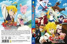 ANIME DVD~The Seven Deadly Sins Season 2(1-24End)English sub FREE SHIPPING+GIFT