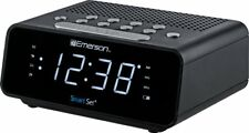 Emerson SmartSet Alarm Clock Radio with AM/FM Radio, Dimmer, Sleep Time and .9""