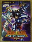 3 DVD Anime Manga Saint Seiya,The lost Canvas 1ª temporada