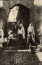Alger argel argelia al-Djazayer 'ir ~ 1920/30 casbah rue n' fissa niños Children