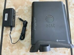 Motorola NVG510 AT&T U-Verse Modem Router w/built-in WiFi with Power Adapter