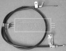 Handbrake Cable fits NISSAN QASHQAI J10 1.5D Right 07 to 13 Hand Brake Parking