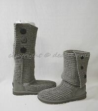 NIB UGG Cardy Sweater Boots in Grey. US Women's Size 6. Winter Boots/Cold Weathe