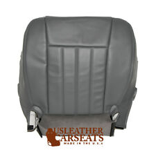 2007 Dodge Dakota Driver Bottom Replacement Synthetic Leather Seat Cover Gray