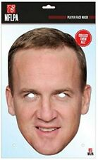 Peyton Manning Face Party Mask Card A4 Fancy Dress Ladies Men American Football