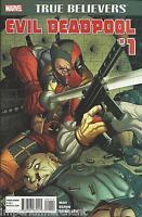 Deadpool Comic Issue 1 Classic Reprint True Believers 2015 Daniel Way Espin Guru