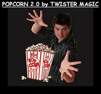 MAGIC POPCORN MACHINE 2.0 GEORGE IGLESIAS TWISTER POPPING SOUND BATTERIES TRICK