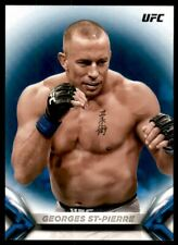 2018 Topps UFC Knockout Blue #5 Georges St-Pierre /99