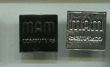Plakette MAN Computers 23mm (cv556)