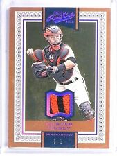 2016 Panini Prime Cuts Holo Red Boster Posey Patch #D3/3 #77 *60383