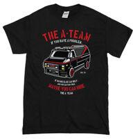 The A-Team Van Men's Funny T-Shirts 80's TV Programme T-Shirt Show Mr-T