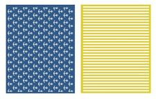 LIFESTYLE CRAFTS QUICKUTZ NAUTICAL EMBOSSING FOLDERS   EF0018  WE R 03399-6