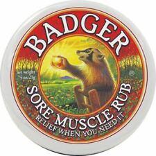 BADGER BALM   Muscle Rub   1 x 21g