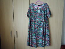 Jersey Swing Dress sz22/24 lots of flare Ideal any weather item
