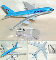 KOREAN AIR Airbus A380 HL7612 Airplane 16cm DieCast Plane Model