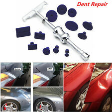 Car Body Paintless Dent Repair Hail Removal Puller Lifter PDR Tool T-Bar w/ Tabs