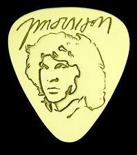 JIM MORRISON - Solid Brass Guitar Pick, Acoustic, Electric, Bass