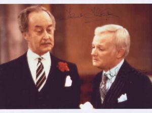Frank Thornton & John Inman - Actors - Signed Photo - COA (14858)