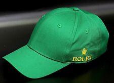 Rolex Club Official BaseBall Cap 100%Cotton Made Superb Quality Mens Watch-Green