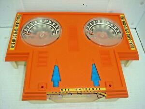 Vintage 1969 Mattel Hot Wheels Speedometer Dual Lane Red Line