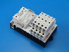 New General Electric CR463L80AJA 8 Pole 8NO 120v CR460B Lighting Contactor