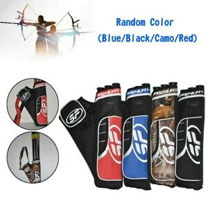 3 Tube Hip Quiver Hunting Archery Arrow Quiver Holder Bow Belt Waist Hanged AY