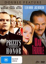 Jack Nicholson PRIZZI'S HONOR & Ellen Barkin MAN TROUBLE - 2 MOVIES DVD