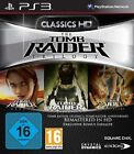Playstation 3 TOMB RAIDER TRILOGY Legend + Underworld + Anniversary Neuwertig