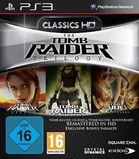 Playstation 3 TOMB RAIDER TRILOGY Legend + Underworld + Anniversary Neuwertig