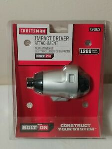 Craftsman Impact Driver Attachment for Bolt On System 937973