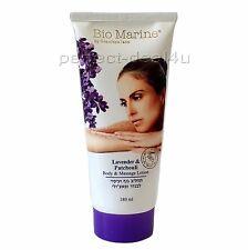 LAVENDER & PATCHOULI Body Massage Lotion Cream Dead Sea Bio-Marine 180ml-6oz