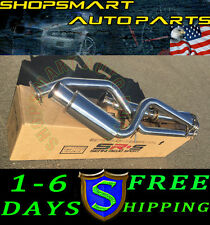 SRS PERFORMANCE CATBACK EXHAUST SLANTED MUFFLER FOR SCION TC 2012