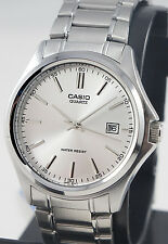 Casio MTP-1183A-7AD Men's Analog Watch Stainless Steel Band Quartz with Date New