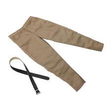 Escala 1:6 Pantalones de Polainas Masculinas Para Figuras de Acción Muñecas