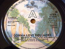 "GEORGE BENSON - GONNA LOVE YOU MORE   7"" VINYL"