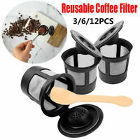 NEW K-Cup Refillable Coffee Filter Capsule Tea Mesh Basket Kitchen For Keurig