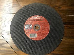 "Hilti 14"" Ductile Pipe Abrasive Blade Disc Type 1 14"" x 1/8"" x 1""  #00025849"