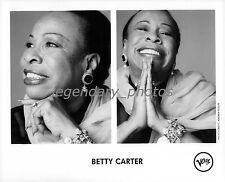 Betty Carter Verve Original Music Press Photo