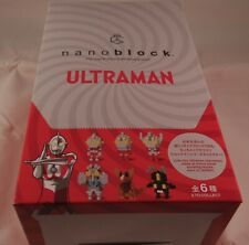 Kawada Nanoblock Ultraman - japan building toy Nbmc_05S 1 Box 6Pcs Ltd
